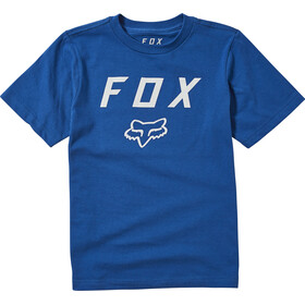 Fox Legacy SS Tee Youth, royal blue